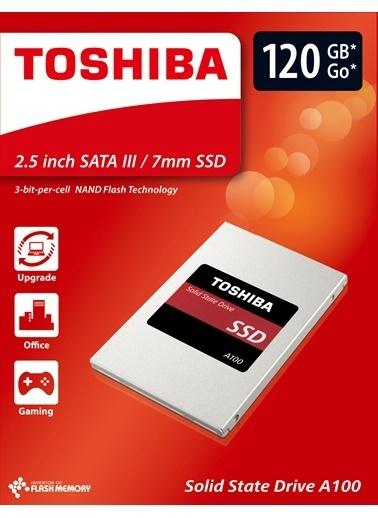 "Toshiba 2.5"" 240Gb A100 Ssd 550/480 Mb/Sn 3Y Renkli"